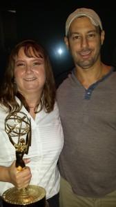 "Me, ""my"" Emmy, & Scott"